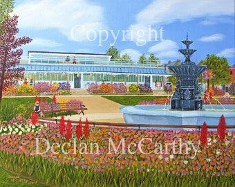 People's Park, Dun Laoghaire 17x12(A3)