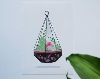 Terrarium -- Art Print
