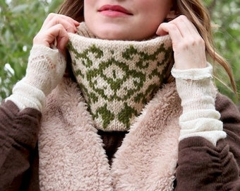 garden gate & ivy KNITTING PATTERN