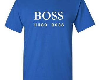 Hugo Boss Royal Blue T-Shirt