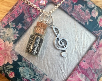 Music Charm necklace