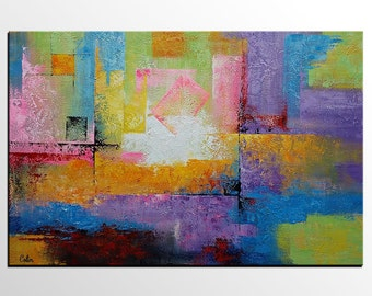 Large Art, Art Painting, Original Painting, Canvas Wall Art, Framed Art, Abstract Art, Abstract Painting, Abstract Wall Art, Wall Hanging