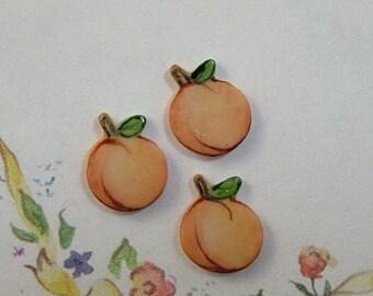 Peach Embellishment set of 3