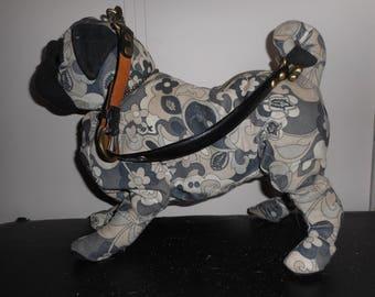 FuzzyCouture Paisley Pug Purse