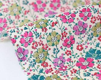 Fabric Liberty of London 100x140cm Clarisse rose Green