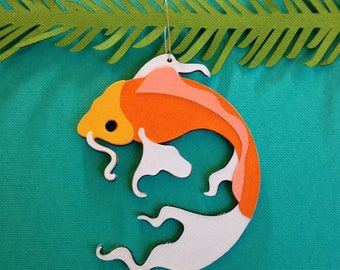 Koi Christmas tree ornament