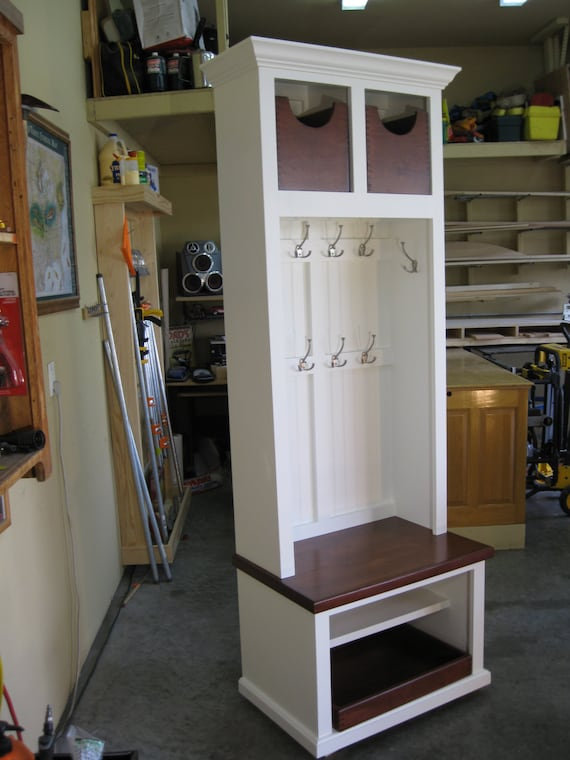 29 Wide Entryway Furniture Mudroom Cabinet Hall Tree