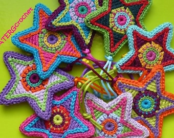 Crochet pattern STAR by ATERGcrochet