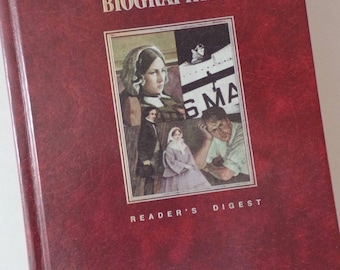 Reader's Digest Great Biographies Edison Nightingale Lindbergh Anderson First Edition 1987