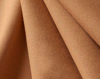 "10oz Duck Fabric   60"" Nutmeg   Sold By The Linear Yard"