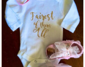 Fairest of Them All onesie
