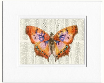 Butterfly, pink print