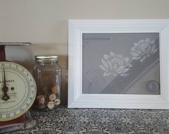 Framed and Textured Canvas Art
