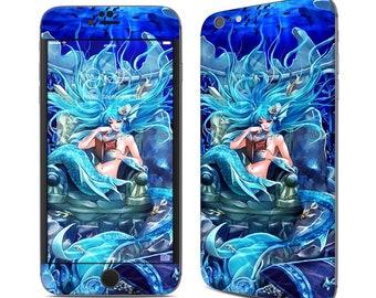 Iphone skin - in her own world mermaid