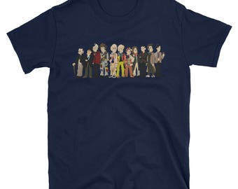 Doctor Who - All the Doctors - T-Shirt