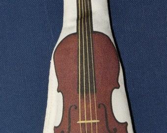 Sherlock Holmes Violin Catnip Cat Toy by StarCATS