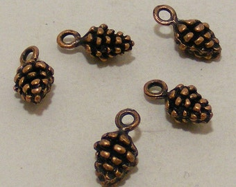 Copper Pine cone findings 10 for 1.99