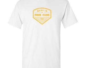 Made in Rhode Island T Shirt - White