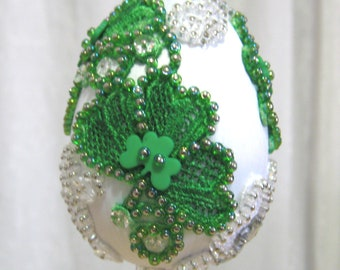 277 E Shamrock Lace Egg