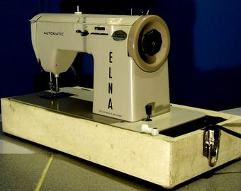 Elna Automatic Swiss-made Sewing Machine, Freshly Serviced by Stagecoach Road Vintage Sewing Machine, with Free Shipping
