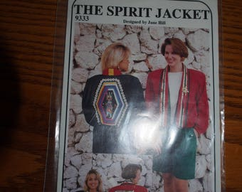 THE SPIRIT Jacket Pattern by Jane Hill New in Package Restyle HILLCRAFT