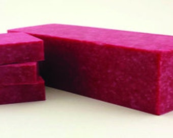 Raspberry Lush Scrub Soap - Specialty Soap