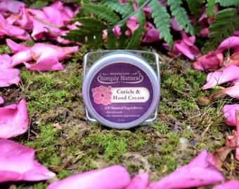 Cuticle & Hand Cream-Natural-Organic-Hand Salve-Moisturizer-Lotion-Skin Care