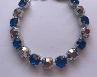 "Preciosa Crystal Detroit ""Fan""actics Bracelets"