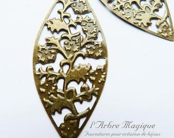 Great pendant filigree bezel x 4