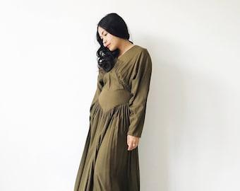 Vintage Handmade Minimalist Modern Dress