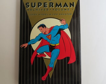 DC-Archiv Ausgaben Superman HC Vol. 1 (1989) 1. Druck, DC tpbhc