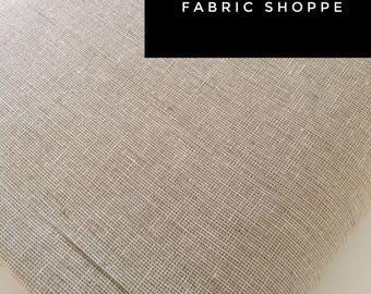 Essex Linen Homespun, Linen Blend fabric, Essex Yarn Dyed, Apparel Fabric, Dress fabric, Yarn Dyed fabric, Essex Homespun in Limestone