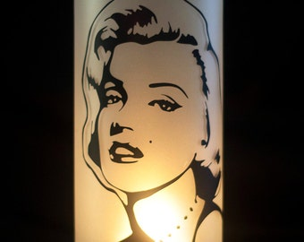 Marilyn Monroe Candle Holder or Vase