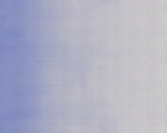 Cotton and Steel - Pigment Basics - Ombre - Periwinkle Unbleached Cotton Fabric