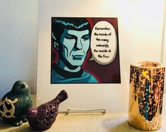 "High-Quality ""Spock"" Print"