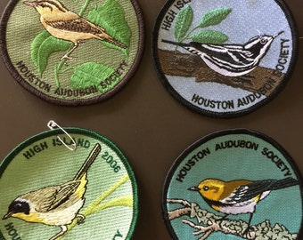 Audubon Society Bird Patches