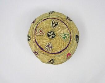 Hand Embroidered Prayer Cap