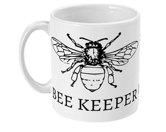 Bee Keepers Cup Hot Chocolate Tea Coffee Mug Gift Idea Can be Personalised