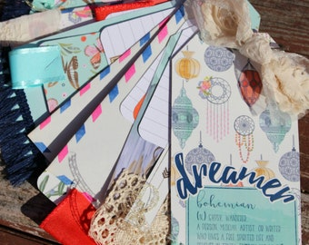 Dreamer Tag and Junk Journal