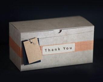 Coffrets cadeaux Kraft 12 X 6 X 6 pouces - lot de 10 || Parti des boîtes, boîtes de demoiselle d'honneur, garçons d'honneur boîte-cadeau, mariage boîtes, boîtes de faveur