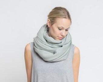 merino scarf - schilf