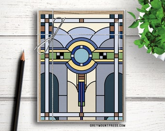 Stained Glass note card set with envelopes. Postcard-style stained glass note cards. Stained glass postcard set. Postcards notecard set.
