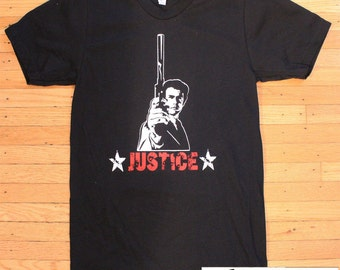 Clint Eastwood Dirty Harry Justice T-Shirt American Apparel
