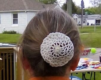 Crochet Hair Bun Cover