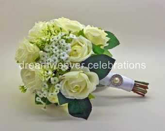 MADELINE, Silk flowers, Bridal Bouquet, Wedding and Bridal accessories.