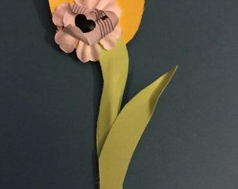 Tulip Boutonnière / Lapel Flower