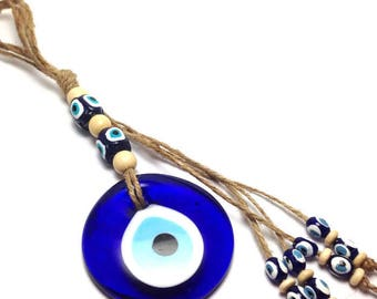 Evil eye Wall Hanging - Protection & Good Luck - Home decoration - Greek souvenir - Greece - gift