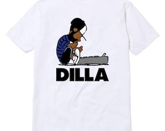 Dilla Schroeder T-Shirt Unisex Hip-Hop Rap Wu-Tang J Dilla MF Doom Jay Dilla Madlib Madvillain Parody