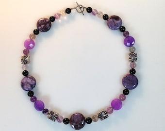 Violet fantasy Choker Necklace