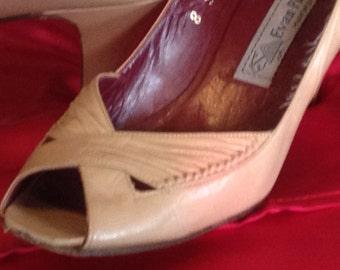 Vintage Evan Picone Ladies Heels/Made in Spain